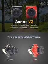 HGLRC AURORA V2 FPV CAMERA 1200TVL 2.1mm 1/3 Camera for FPV Drone​