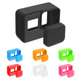 BGNING ​Silicone Case + Lens Cap for GoPro7/6/5 Camera Protector Drop-Proof Outdoors Multi Colors Camera Case For Go Pro Accessories