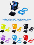 iFlight TPU 3D Printed FPV Camera Mount Semi-enclosed 30° with ND8 Lens Filter for GoPro Hero 5 6 7 Action Camera FPV Racing Drone Cinewhoop