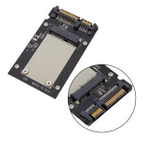XT-XINTE 50mm mSATA Mini SSD to 2.5  SATA SATA3 Drive 22Pin Converter Adapter Card Board with Protective Case for Windows Vista Linux Mac