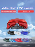 SKYZONE SKY02C 5.8GHZ 48CH FPV Goggles 200 400 600 Myopia Lens Support 2D/3D HDMI Head Tracking With Fan For FPV Racing Drone