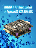 Airbot OMNINXT F7 Flight Controller & Typhoon32 V2.1 35A Blheli_32 3-6S Brushless ESC for DIY FPV Racing Drone Quadcopter