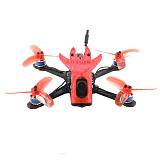 QWinOut Featherbird-135 135mm Brushless FPV Racing Drone 2S DIY RC Quadcopter PNP MiniF4 FC XT1104-7500KV Motor 25mw~200mw VTX