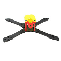 QWinOut Owl215 Wheelbase 215mm Carbon Fiber Frame Kit FPV Rack with 3D Print TPU Canopy Antenna Mount Camera Holder for FPV Racing Drone DIY RC Quadcopter