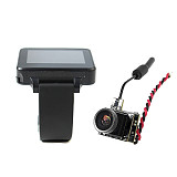 JMT Bettle V1 FPV Camera 800TVL 25mW 48CH 5.8G PAL with 200RC FPV Watch for RC Hobby DIY FPV Racing Drone Quadcopter