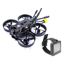 IFlight CineBee 75HD 2-4S Race Drone SucceX F4 Tower 12A 4in1 ESC VTX FPV 1080P Turtle V2 CineWhoop with Frsky RX FPV Watch