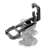 XT-XINTE LB-A7 Aluminum alloy Hand Grip Quick Release Plate with 1/4 Screw Hole Professional for Tripod Head, A7 A7R S Mirrorless Camera