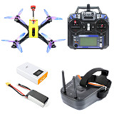 JMT Owl215 Wheelbase 215mm FPV Racing Drone DIY RC Drone Quadcopter PNP BNF RTF with F4 Flight Controller 1200TVL FPV Camera VTX