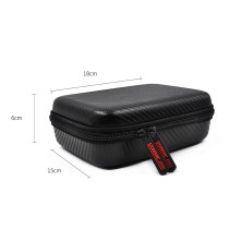 STARTRC PU Portable Carrying Case Camera Parts Protective Hard Bag Storage Box 180*150*60mm for DJI Osmo Pocket/Action Accessories