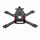 JMT 110mm Wheelbase Racing Frame 3K Carbon Fiber Freestyle Stretch X Frame Kit For FPV RC Drone