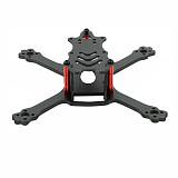 JMT 110mm Wheelbase Racing Frame 3K Carbon Fiber Freestyle Stretch X Frame Kit For FPV RC Drone