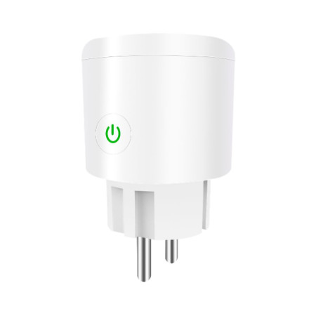 Mingchuan WIFI Smart Socket EU Plug 220V 10A Phone Remote Control Smart Timing Switch Work For Amazon Alexa for Google Assistant