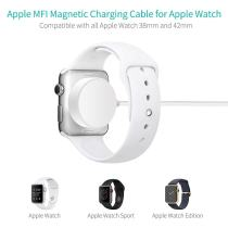 FCLUO For Apple Watch iWatch Series 1/2/3 1M Magnetic Charger Charging Cable