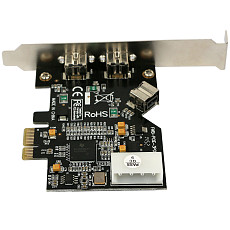 XT-XINTE PCI Express PCI-E x1 to 3 Ports 1394B Controller Card Add On Card for FireWire 800 IEEE 1394 B 2+1 Digital Camera Video Capture