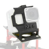 JMT 3D Print TPU Camera Mount 3D Printed Camera Holder 3D Printing Protective Shell 25 Degree for GOPRO Hero 5 6 7 Camera FPV Racing Drone