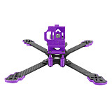 QWinOut Owl260 260mm Carbon Fiber FPV Frame with 3D Printing TPU Camera Mount and Accessories for Gopro 5 6 7 FPV Racing Drone Cinewhoop Cinedrone