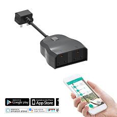 Mingchuan Smart Wifi Socket Smart Home Outdoor Waterproof Socket Support Alexa Google IFTTT with UK Plug