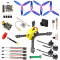 QWinOut Owl215 215mm FPV Racing Drone DIY RC Quadcopter Kit with F4 Flight Controller Turbo Micro F2 FPV Camera 25/100/200/400mW VTX
