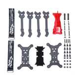 iFlight RACE H5 5inch H-Quad FPV Frame 205mm Wheelbase Carbon Fiber + TPU Canopy For RC DIY FPV Racing Drone Quadcopter