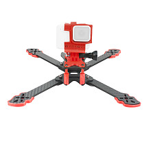 QWinOut Owl260 260mm Carbon Fiber FPV Frame with 3D Printing TPU Camera Mount and Accessories Adjustable Angle for Gopro 5 6 7 FPV Racing Drone Cinewhoop Cinedrone