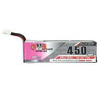 GNB 450MAH 1S HV 80C 3.8-4.35V Lipo Battery PH2.0 Plug Connector For E010 M80S Tiny7 RC Models FPV Racing Drone