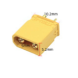 10pairs Amass XT30U Male Female Bullet Connector Plug the Upgrade XT30 For RC FPV Lipo Battery RC Quadcopter (5 Pair)