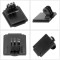 BGNING Aluminum Alloy Sports Camera Helmet Fixed Seat Accessories Mounting Base with Upgraded Slot for Gopro/DJI Osmo Action/Xiaoyi Tencent EKEN and other Photography Equipment​