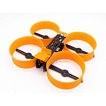 JMT Donut 3 Inch H Type brushless Racing Drone Frame RC FPV Indoor Mini Racer 140mm Frame Kit with PLA Motor Protector Prop Guard