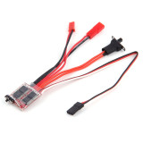 JMT 20A / 30A Brushed ESC 2KHz Forward Reverse Bidirectional Speed Controller with Brake 30*23*5mm for RC Boat Car Tank Rock Crawlers