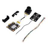 Hawkeye Firefly Split FPV Camera 4K 160 Degree HD DVR WDR Single Board Built-in Mic Low Latency TV for RC Plane FPV Racing Drone
