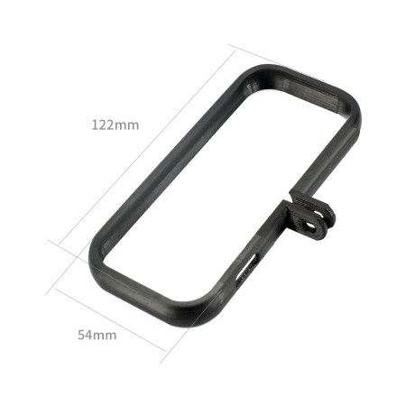 BGNing 3D Printed PLA Switch Frame Mount Adapter 3D Print Protective Border for Insta360 ONE X Panorama Camera for Gopro Hero Bracket