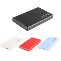 XT-XINTE 2.5  USB3.0 SATA3.0 HDD Hard Disk Drive External HDD Enclosure Case Tool Free 6 Gbps Support 3TB UASP Protocol