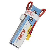 LDARC 11.4V 530mAh 80C Battery for 90GTI