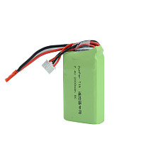 JMT ​2S 7.4V 2000MAH 8C Transmitter RC Lipo Battery AKKU 66*36*17mm for Jumper T16 Plus Open Source Multi-protocol Remote Controller