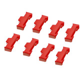 JMT ​50Pcs Servo Extension Cable Buckle Clip Flight Controller Cords Fastener Jointer Plugs Fixing Holder for RC Airplane Helicopter