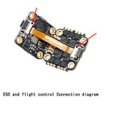 JMT SIF4 F4 RC Flight Control w/ BEC 2A ESC BS-13A 13A 2-4S 4IN1 ESC + SIVTX-5840 25/100/200mW transmitter OSD Adjustment + XT30 Plug Pigtail Power Wire 100F Capacitor for Flytower FPV Racing Drone