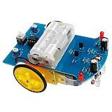 Feichao D2-1 DIY Kit Intelligent Tracking Line Smart Car Kit Motor Electronic DIY Kit Smart Patrol Automobile Parts DIY Electronic Truck