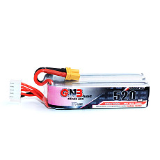 GNB Gaoneng 520MAH HV 4S 15.2V 80C HV 4.35V Lipo Battery for Indoor FPV Racing Drone Cinewhoop BetaFPV Beta85X Drone