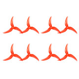 4 Pairs Emax Avan Scimitar 4028-3 4 inch 3-Blade Propeller CW CCW Props for RC Drone Quadcopter