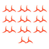 10 Pairs Emax Avan Scimitar 4028-3 4 inch 3-Blade Propeller CW CCW Props for RC Drone Quadcopter