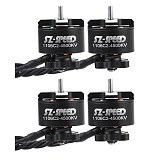 4pcs FullSpeed 1106 C2 4500KV 2-4S Brushless Motor for DIY FPV Racing Drone Quadcopter