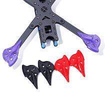 4pcs/set iFlight 3D Printing TPU Arm Pad/Guards/Protector for iFlight XL5 V4/ XL6 V4/XL7 V4/XL8 V4/XL10 V4/SL5 FPV Frame Kit