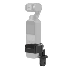 XT-XINTE 1/4 Expand Screw Hole Camera Expansion Module Selfie Stick Connect Base and Sport Camera Fixed Mount for DJI Osmo Pocket
