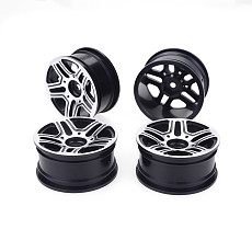 JMT 4pcs 1/10 On-Road Drift Car 52MM Aluminum Alloy Metal Wheel Hub 1.9Inch Climb Car Wheel Rim For HSP Tamiya HPI Kyosho Sakura Version B
