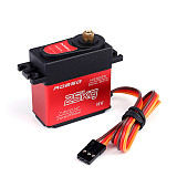 ROBSG HS3225 Digital Servo 25KG Full Metal Gear 180 Degree Digital Servo Waterproof Servo for RC Cars Accessories