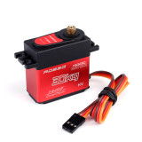 ROBSG HS3230 30KG Half-metal Hollow Cup Metal Gear Digital Steering Gear Brushless Motor for RC Car