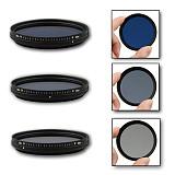 FOTGA ND2-40052 58 62 67 72 77mm Slim Fader Variable Adjustable ND ND2 to ND400 Filter Neutral Density