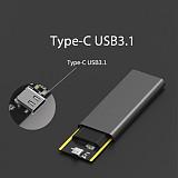 XT-XINTE PCI-E M.2 Nvme to Usb3.1 Type C 10Gbps & USB 3.0 6Gbps Enclosure M2 PCIE SSD Hard Disk External Drive Box M Key Usb-C Adapter PC