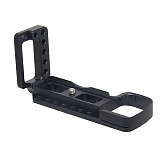 BGNING CNC Aluminum Vertical Shoot Quick Release L Plate Bracket Holder Hand Grip for Sony A6400 Dslr Camera Support With Cold Shoe