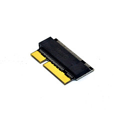 ITHOO SATA M.2 NGFF SSD for Macbook 2012 Hard Drive Disk Driver-Free Adapter Riser Card with M.2 SATA KEY-B/M Interface